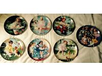 Children of the week Collectors Plates by Danbury Mint