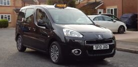 2012 (12) PEUGEOT PARTNER TEPEE TAXI 1.6 HDI CAB DIRECT HACKNEY EURO 5 ENGINE EXPERT E7