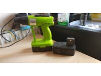 24 Volt drill missing charger for parts only. Drill working