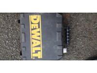 Dewalt drill box empty