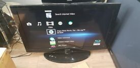 """Samsung 42"""" Full HD 1080p Freeview LCD TV £100"""