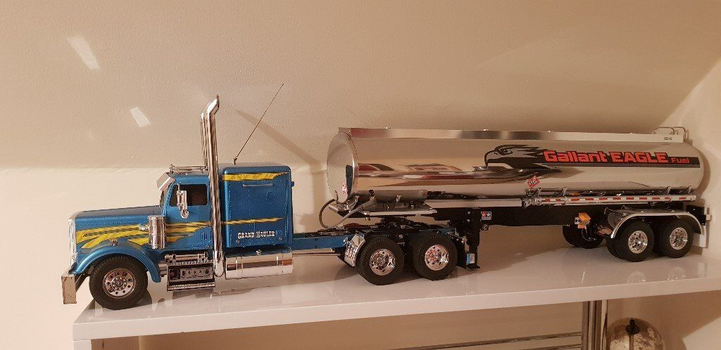 Tamiya Grand Hauler 1/14th scale truck and tanker trailer | in  Inverkeithing, Fife | Gumtree
