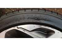 """19"""" vauxhall atomic alloy wheels"""