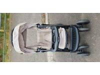 Second hand pram and baby carrier
