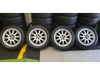 Vauxhall Combo Van Fiat Doblo Alfa Romeo Genuine 16 alloy wheels + tyres 205 50 16