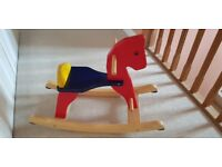 Wooden rocking horse *excellent condition *