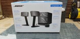 Bose desk top speakers new