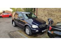 Mercedes ML 500 AMG swap for long base van or recovery truck.