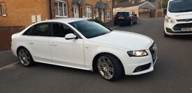 White audi a4 special edition for sale, excellent car in very good condition