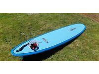 "Local Hero 9ft1"" epoxy surfboard with Alder board bag"