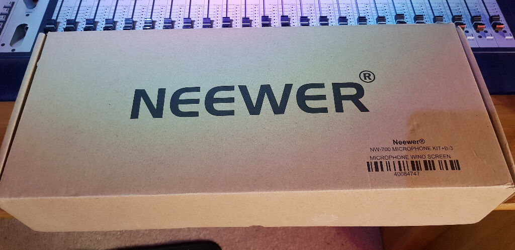 Neewer NW-700 Microphone Kit With Added Extras, Boxed & Brand New Unused |  in Glenrothes, Fife | Gumtree