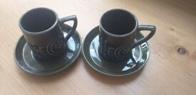 Portmeirion Totem Cups & Saucers