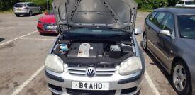 VW Volkswagen Golf 2005 MK5 1.6 FSI SE 5dr Petrol Hatchback Automatic Auto - 2 Keys -Parking Sensors