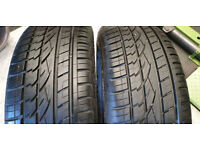 255 60 18 2 x tyres Continental Cross Contact UHP