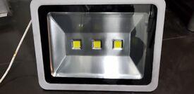 LED Security Flood 150 watt very bright light for Garage forecourt Carwash Large Garden Driveways
