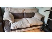 SCS Grey Amazing Condition 3 Seater Sofa