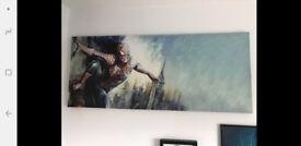 Spiderman canvas wall art