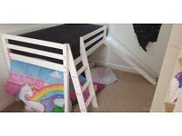 Childrens slide bed, brand new