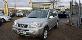 Nissan X-Trail 2.2 dCi SE 5dr 1 Year MOT with Private Plate