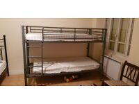 bunk bed childrens metal nearly new