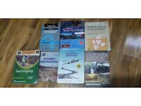 Civil engineering books for sale