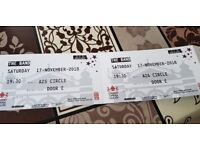 The Band - Take That The Musical Tickets x2