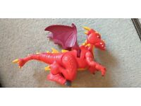FISHER PRICE IMAGINEXT DRAGON TOY