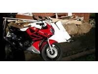 Honda CBR125R 2007 Tornado Red 125cc Motorbike