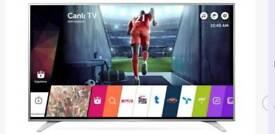 LG 49 inch Ultra hd 4k smart tv