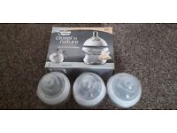 New 5 x tommee tippee baby bottles 5fl.oz