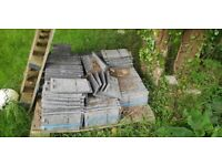 Marley concrete grey roofing tiles building materials