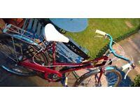 Ladies old/vintage Emmelle Wayfarer step through bike