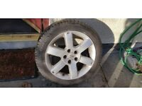 Rare hard to get Nissan qashqui spare alloy wheel & quality tyre new