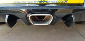 Astra VXR cat back stainless steel exhaust
