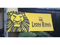 Original lion king signs from west end musical
