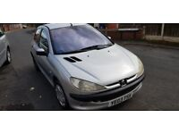 Peugeot 206 Low Mileage, 1 owner