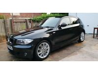2009 BMW, 1 SERIES,2.0 118d MSport 5dr, Full Service History, Long MOT, £30 Tax, Bluetooth