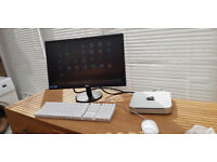 Apple Mac Mini 8gb ram High Sierra - 22 inch Slim Monitor and Apple Keyboard/Mouse
