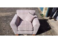 Nearly New Patterned Chair