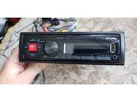 Alpine UTE-73BT Advanced Bluetooth Mech-less Digital media receiver