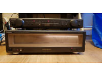 TECHNICS SE-A1000M2 SU-C1000M2 STEREO POWER AMPLIFIER & PRE-AMPLIFIER - £500