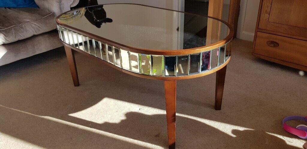 Laura Ashley Capri Mirrored Coffee Table In Ipswich Suffolk Gumtree