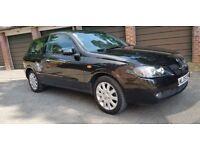 Nissan Almera SVE auto black 1769cc 07903496696 £850