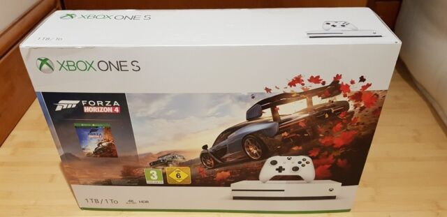 Xbox One S 1tb Forza Horizon 4 Bundle With 2 Extra Games Brand