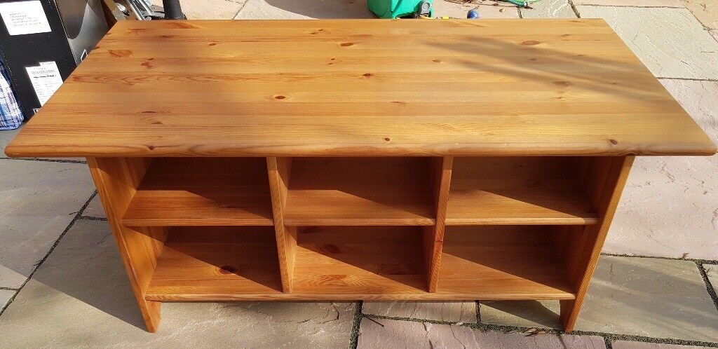 Ikea Leksvik Solid Pine Coffee Table Tv Stand