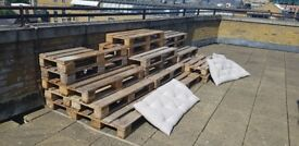 Free pallets - nicely sanded. Pick up only