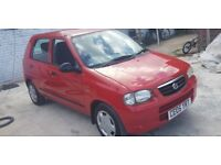 SUZUKI ALTO LOW MILEAGE ( AUTOMATIC ) EXCELLENT DRIVE ( ANY OLD CAR PX WELCOME )