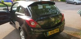 Vauxhall Corsa 1.2i Breeze, 1 owner, 74k miles, Limited Spoiler edition, Low insurance, AUX