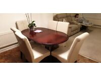Dinning room furniture table 6 chairs