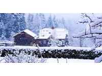 Last minute valentines /Holiday short break cabin Poland Snow ski trip Romantic Valentines treat